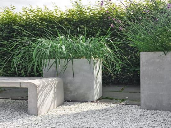 Decorative grass concrete stone
